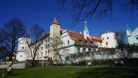 Старая Рига - столица Латвии, Европы стоковые фотографии rf