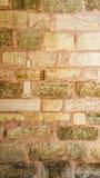Старая розовая каменная стена Стоковое Изображение RF