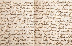 Старая рукопись стоковые изображения rf