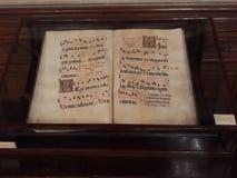 Старая рукопись счета Стоковое фото RF