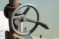 Старая рукоятка Стоковое фото RF