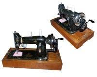 Старая ручная швейная машина от различных углов Стоковое Изображение RF