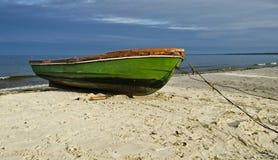 Старая рыбацкая лодка Стоковое фото RF