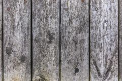 старая серая деревянная текстура предпосылки Стоковые Фотографии RF