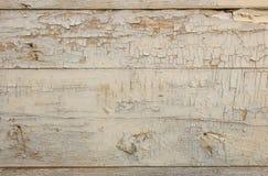 старая серая деревянная краска шелушения двери Стоковое Изображение RF