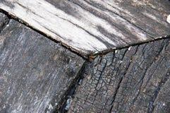 Старая серая деревянная предпосылка текстуры Стоковое Фото