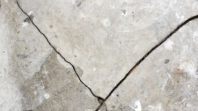 Старая серая стена сломала бетон Стоковая Фотография RF