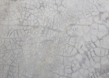 Старая серая стена сломала бетон Стоковое Фото
