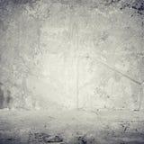 Старая серая стена цемента Стоковое Фото