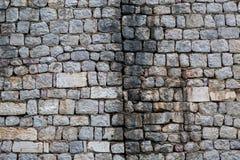 Старая серая стена Стоковая Фотография