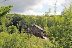 Старая серая структура, Вермонт Стоковые Изображения