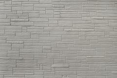 Старая серая текстура предпосылки кирпичной стены Стоковая Фотография