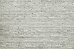 Старая серая текстура предпосылки кирпичной стены Стоковые Изображения