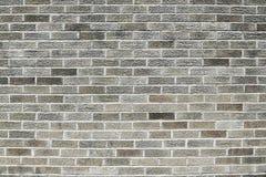 Старая серая текстура предпосылки кирпичной стены Стоковые Изображения RF