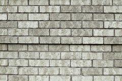 Старая серая текстура предпосылки кирпичной стены Стоковое Изображение