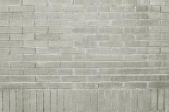 Старая серая текстура предпосылки кирпичной стены стоковое фото rf