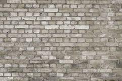 Старая серая текстура предпосылки кирпичной стены стоковые фото