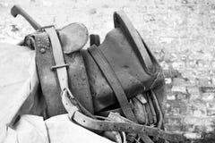 старая седловина Стоковое Изображение RF