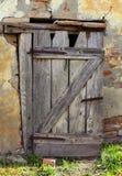 Старая сельская дверь Стоковое Фото
