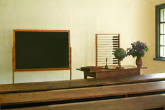 Старая сельская школа Стоковое Фото
