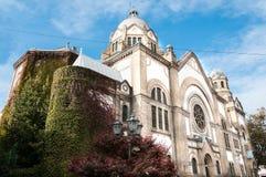 старая синагога Стоковые Фото