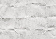 Старая скомканная, рециркулированная текстура коричневой бумаги Стоковое фото RF
