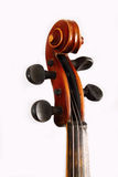 Старая скрипка в мастерской Стоковые Изображения RF