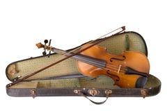 Старая скрипка Стоковые Изображения