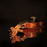 старая скрипка Стоковое Изображение RF