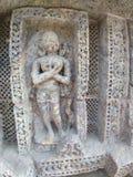 Старая скульптура на Konark, Odisha стоковое фото rf