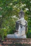 Старая скульптура Будда Стоковое фото RF