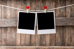 Старая смертная казнь через повешение картинной рамки 2 на веревке для белья Стоковая Фотография
