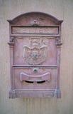 Старая смертная казнь через повешение почтового ящика на стене Стоковые Изображения RF