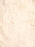 старая сморщенная бумага Стоковые Фото
