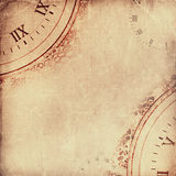 Старая сорванная скомканная бумага сбор винограда бумаги орнамента предпосылки геометрический старый Стоковое фото RF