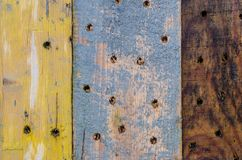 Старая сосна всходит на борт текстуры стоковые фотографии rf