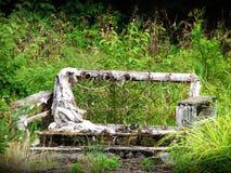 старая софа Стоковые Фото