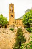 Старая средневековая деревня Moustiers Sainte Мари, Провансаль, Verdo стоковая фотография