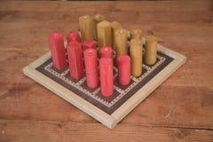 Старая средневековая игра Стоковая Фотография
