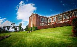 Старая средняя школа Стоковые Фото