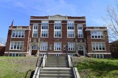 Старая средняя школа Waterville Стоковая Фотография RF