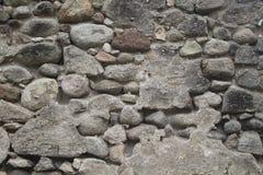 Старая средневековая каменная стена Средневековая текстура фото городища Стоковое фото RF