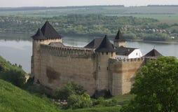 Старая средневековая крепость, Украина Стоковые Фотографии RF