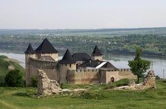 Старая средневековая крепость, Украина Стоковая Фотография RF
