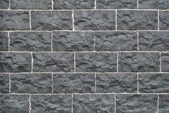 Старая срубленная каменная стена, красивая текстура предпосылки стоковое фото rf