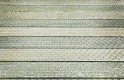 Старая стальная текстура пола моста для предпосылки стоковое фото rf