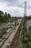 Старая станция железной дороги Стоковые Фотографии RF