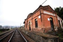 старая станция Стоковые Фото