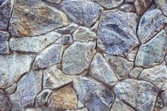 Старая старая текстура каменной стены Стоковое Фото