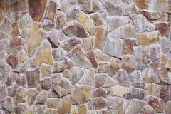 Старая старая текстура каменной стены Стоковые Изображения RF